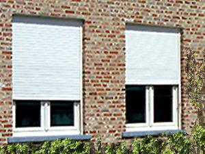 Voorbeeld inbouwrolluik - Friss voor Zonwering